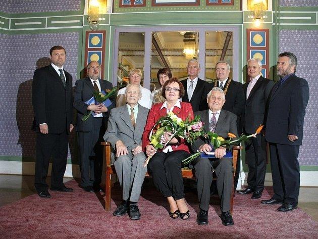 Předávání cen města Prostějova za rok 2011