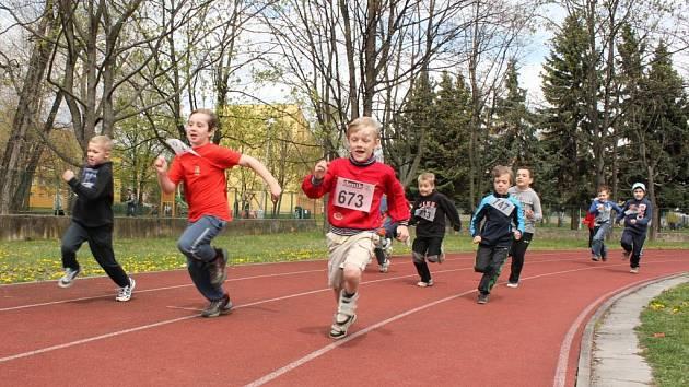 Dětská atletika. Ilustrační foto