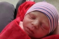 Patrik Hausner, Přerov, narozen 6. ledna 2021 v Přerově, míra 50 cm, váha 3262 g