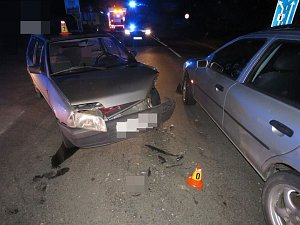 Nehoda na okraji Prostějova
