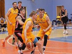 Prostějovští basketbalisté. Ilustrační foto.