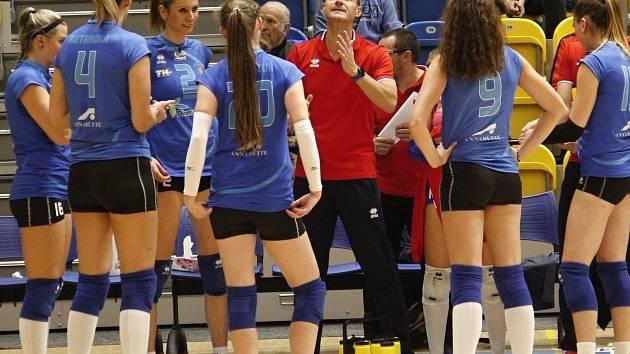 Volejbalistky Prostějova. Ilustrační foto