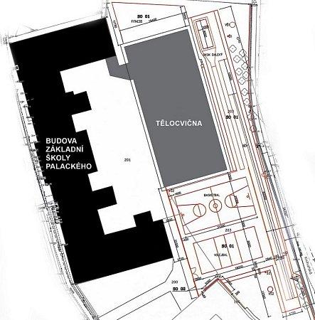 Návrh rekonstrukce hřiště uZŠ Palackého