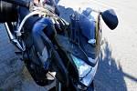 Při nehodě v Otinovsi se zranil mladý motorkář