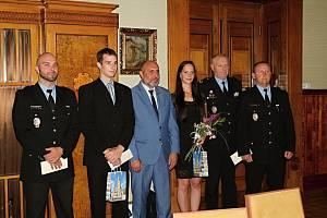 V pátek dopoledne, byli na prostějovské radnici oceněni zachránci života. 12.7. 2019