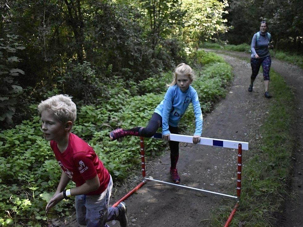 Překážkový závod v Biokoridoru Hloučela, 19.9. 2020