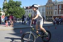 Den dětí na náměstí TGM v Prostějově