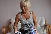 Dana Dokoupilová, výrobkyně sportovních dresů z Duban