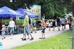 Trabant sraz 2020 u Podhradského rybníka v Plumlově