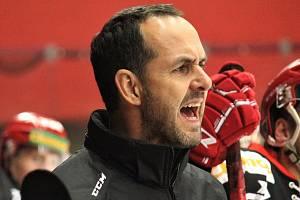 Trenér Jiří Vykoukal