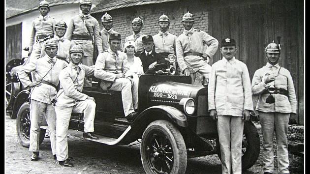 Sbor dobrovolných hasičů má v Klenovicích dlouhou historii.