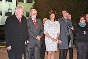 Návštěva prezidenta Miloše Zemana v prostějovské společnosti FTL