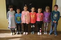 Žáci 1. třídy ze ZŠ Drahany