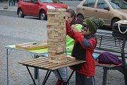 Den stromů na náměstí TGM v Prostějově