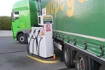 Nehoda na benzince u Vranovic-Kelčic