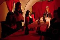 Pohádkové sklepení na zámku v Plumlově