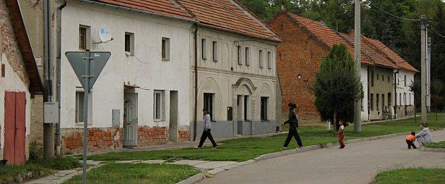 Dřevnovice a místní Romové