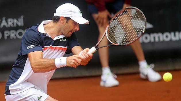 Finálová dvouhra prostějovského challengeru Moneta Czech Open 2019 - Pablo Andujar a Attila Balázs