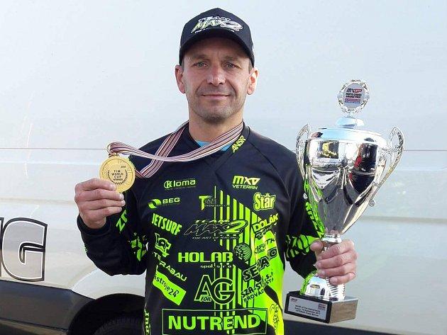 Motokrosař Martin Žerava vyhrál mistrovství světa v nizozemském Assenu