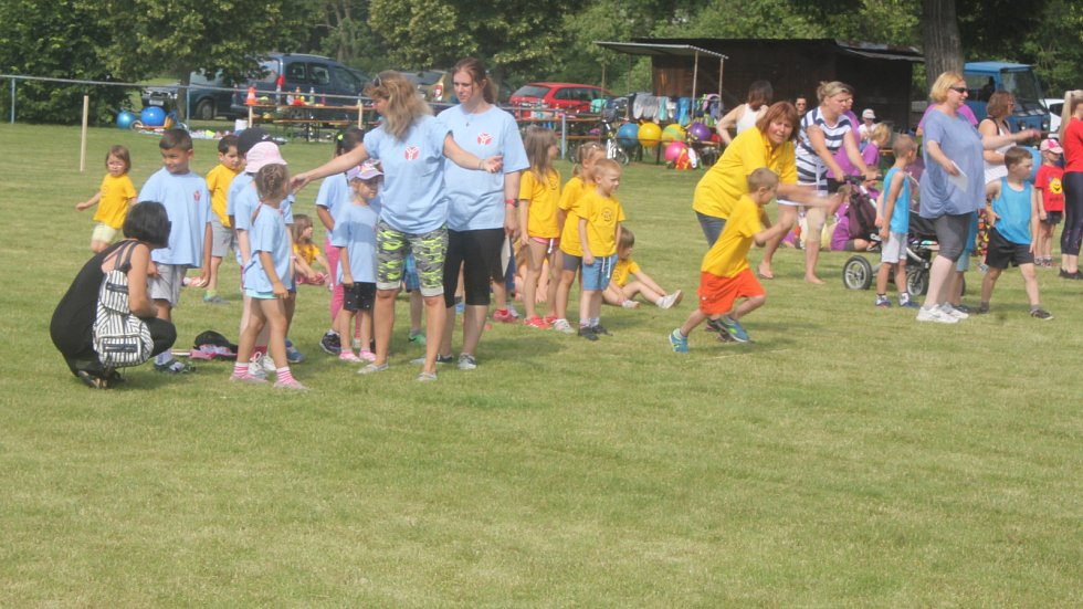 Olympiáda mateřských škol v Doloplazích