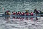 Prostějovské Rebelky ovládly brněnskou přehradu v závodu dračích lodí