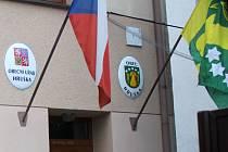 Obecní úřad v Hrušce. Ilustrační foto