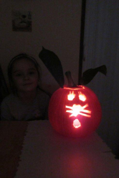 Příprava na Halloween