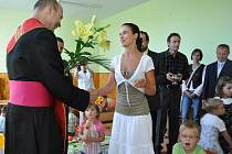 Křesťanská školka na sídlišti Svobody - při zápisu dětí