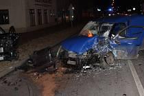 Nehoda v křižovatce ulic V. Outraty a Olomoucká