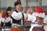Velikonoční trhy v Prostějově zahájilo vystoupení folklorního souboru Mánes