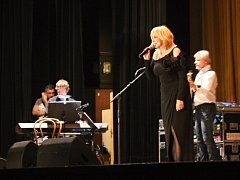 Koncert Hany Zagorové a Petra Rezka v Prostějově
