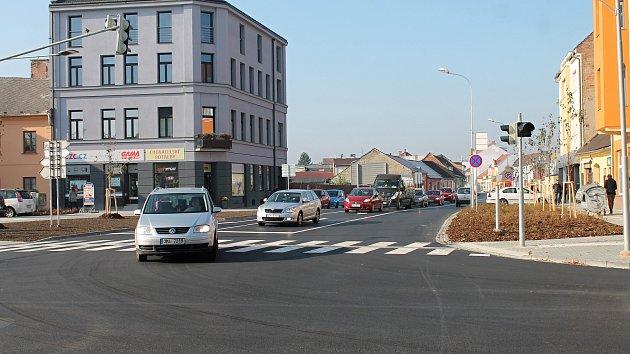 Oficiální otevření opravené Plumlovské ulice v Prostějově