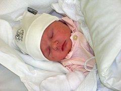 Rebeca Andělová, Prostějov, narozena 11. února, 50 cm, 2900 g