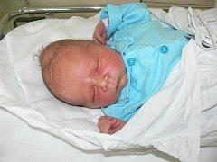 David Churý, Chvalkovice na Hané, narozen 16. června, 52 cm, 3600 g