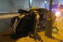 Nehoda ve Dvořákově ulici v Přerově