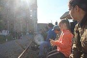 Dobývání hradu Plumlov představilo život na frontě i za ní během druhé světové války