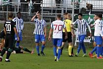 Prostějov prohrál ve 3. kole poháru doma s Bohemians 0:4. Protesty kvůli odpískané penaltě