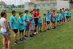 Mladší žáci TJ Sokol Mostkovice obsadili druhé místo v okresním přeboru.
