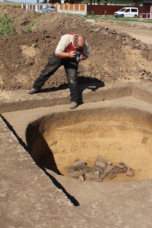 Archeologické vykopávky v Seloutkách