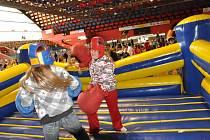 Veletrh zábavy v Prostějově je pro děti velkým lákadlem
