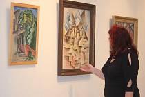 Mimořádná výstava obrazů z tvorby Josefa Čapka je až do konce ledna příštího roku k vidění v hlavní budově prostějovského Muzea.