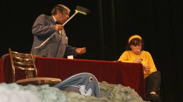 Hanácký divadelní máj v Němčicích nad Hanou. Ilustrační foto