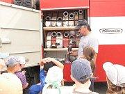 Exkurze v hasičárně
