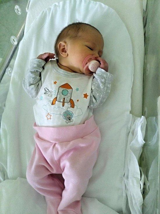 Lucie Božková,  Líšná, narozena 14. dubna 2021 v Přerově, míra 50 cm, váha 3114 g