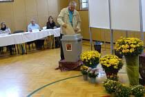Ve druhém největším městě na Prostějovsku, v Kostelci na Hané, se dveře volební místnosti na staré základní škole málem nezavřely. Tak velký byl v sobotu dopoledne zájem voličů