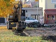 Začala rekonstrukce sportovního areálu v Kostelci na Hané