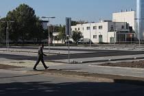 Výstavba nového parkoviště u prostějovské nemocnice