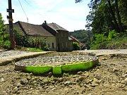 Výstavba kanalizace v Plumlově