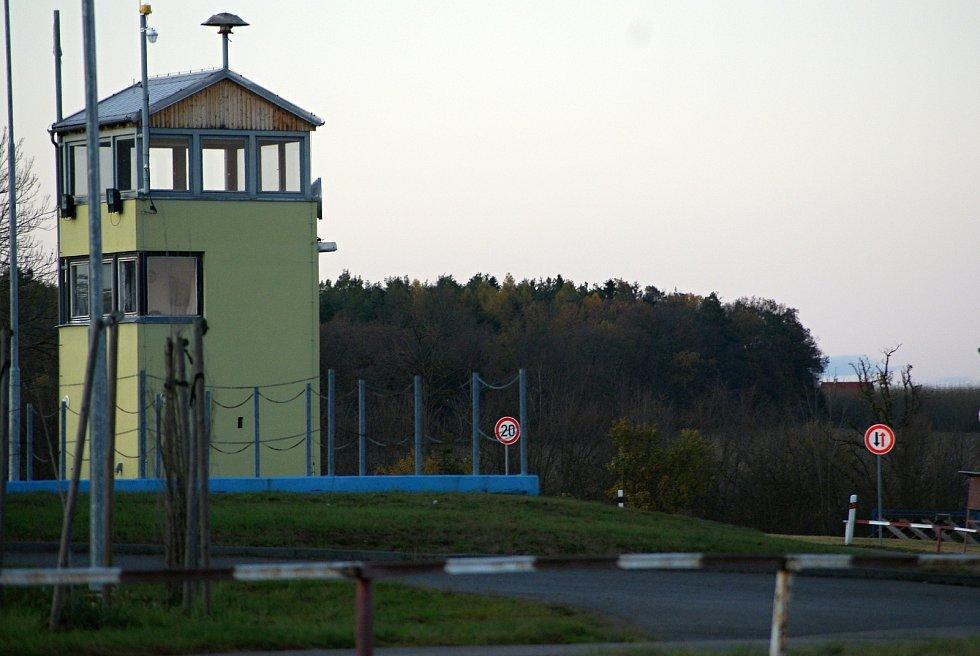 Armádní střelnice v Hamrech na Prostějovsku - strážní věž