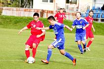 Prostějovští fotbalisté konečně zvítězili na domácím trávníku. V sobotu si poradili s třetím týmem průběžné tabulky Hulínem. Prostějovští vyhráli 3:0.